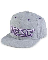 Wesc Men's Logo Embroidery Baseball Cap - Black