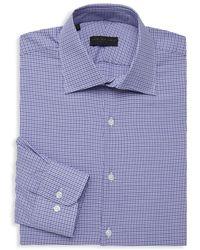 Ike By Ike Behar - Houndstooth Long-sleeve Dress Shirt - Lyst