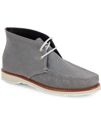 Eastland - Checked Lace-up Chukka Boots - Lyst