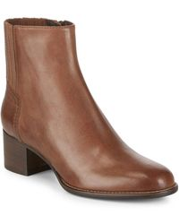 Aquatalia - Teri Sport Leather Boots - Lyst