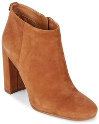 Sam Edelman - Cambell Leather Booties - Lyst