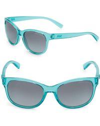 Armani 55mm Wayfarer Sunglasses - Green