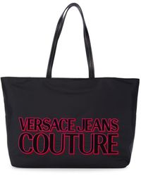 Versace Jeans Couture Women's Logo Tote - Red