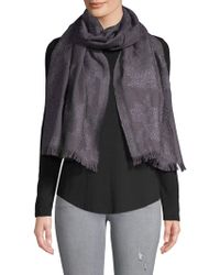 Badgley Mischka Moulin Rose Scarf - Grey