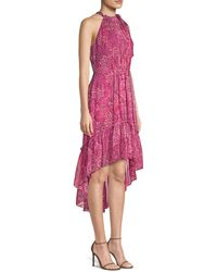 Elie Tahari Primrose Silk High-low Dress - Pink