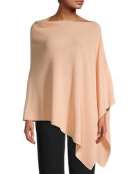Eileen Fisher Women's Asymmetrical Poncho - Rosewater - Multicolour