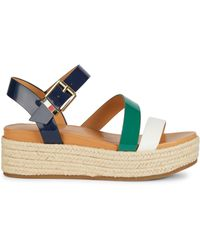 Tommy Hilfiger Marri Platform Sandals - Brown