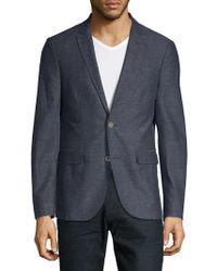 Saks Fifth Avenue - Marled Blazer Jacket - Lyst