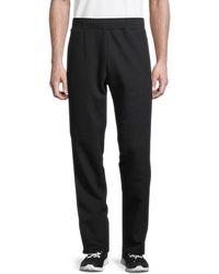 Valentino Men's Striped Cotton-blend Trousers - Grigio - Size Xs - Black