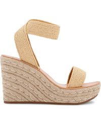 Dolce Vita Penn Espadrille Wedge Sandals - Natural