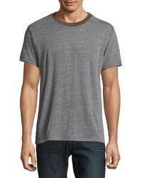 Alternative Apparel Men's Eco Crewneck T-shirt - Eco Gray Camo - Size M
