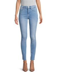 FRAME Le High Skinny Jeans - Blue