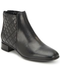 Aquatalia - Laurel Leather Ankle Boots - Lyst