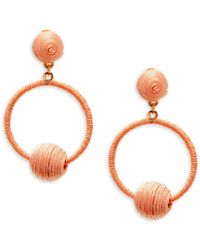 Panacea - Wrapped Drop Earrings - Lyst