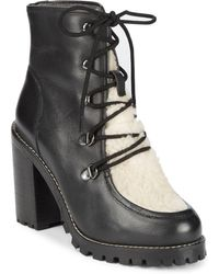 Seychelles - Transport Faux Shearling Boots - Lyst