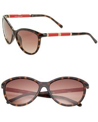 Diane von Furstenberg - Reese 58mm Cat Eye Sunglasses - Lyst