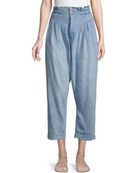 Free People Mover & Shaker High-rise Jeans - Blue
