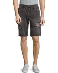 Joe's - Elliot Cut-off Cotton Shorts - Lyst