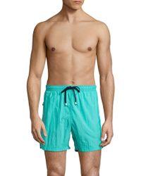 Saks Fifth Avenue | Solid Drawstring Shorts | Lyst