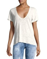 Free People - Saturday Short-sleeve Tee - Lyst