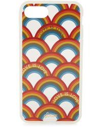 Sonix Love Is Love Rainbow-print Iphone 7 Case - Multicolour