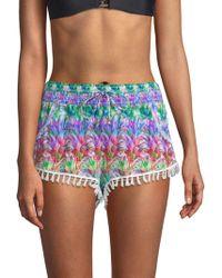 Pilyq - Sassy Coverup Shorts - Lyst