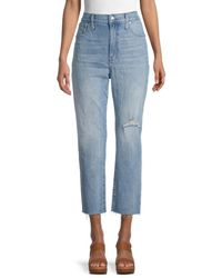 Madewell The Perfect Vintage Cropped Jeans - Blue