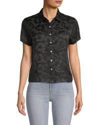 VEDA - Honolulu Floral Silk Button-down Shirt - Lyst