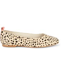 Dolce Vita Ozzie Cheetah-print Calf Hair Flats - Multicolor