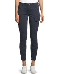 J Brand - Mid-rise Houlihan Cargo Trousers - Lyst