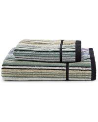 Missoni Tabata 2-piece Striped Cotton Towel Set - Multicolor