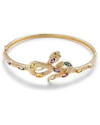 Effy Women's 14k Yellow Gold, Diamond & Multi-stone Bracelet - Metallic
