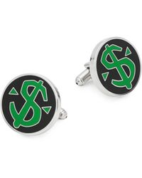 King Baby Studio Dollar Sign Cufflinks - Multicolor
