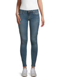Robin's Jean Faded Skinny-fit Jeans - Blue