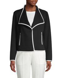 Calvin Klein Classic Notch-collar Blazer - Black