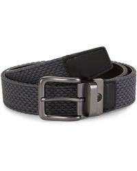 Nike G Flex Hybrid Reversible Belt - Gray