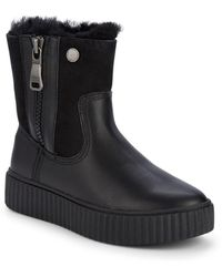 Pajar Connie Waterproof Shearling Lined Boots - Black
