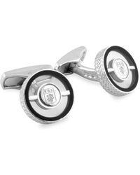 Ermenegildo Zegna Men's Clear Rotating Cufflinks - Metallic