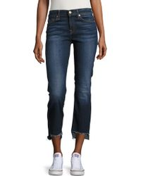 7 For All Mankind - Step Hem Cropped Bootcut Jeans - Lyst