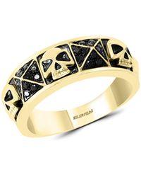 Effy - 14k Yellow Gold & Black Diamond Ring - Lyst