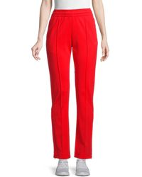 Y-3 Women's Seamed Track Pants - Red - Size S