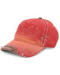 Lyst - True religion Horseshoe Logo Cap 4c1f8cfbed8d