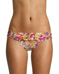 Lucky Brand - Desert Side Sash Bikini Bottom - Lyst