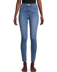 Joe's Jeans The Earth Conscious Bella Super High-rise Ankle-cropped Skinny Jeans - Blue