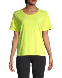 Chrldr Brynley Cotton T-shirt - Yellow