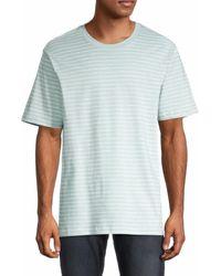 Alternative Apparel Men's The Outsider T-shirt - Capri Blue - Size Xl