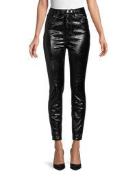 Free People Phoenix Coated Jeans - Black