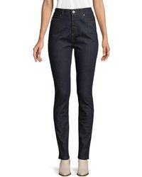 McQ Mid-rise Super Skinny Jeans - Blue