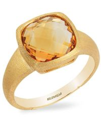 Effy - Sunset Citrine And 14k Yellow Gold Ring - Lyst