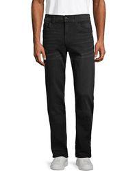 True Religion Ricky Straight Jeans - Black